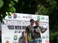 Simon gewinnt U19 UCI MTB Marathon Lovran 2014