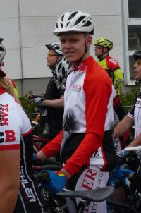 Jan Küpper vor dem Sieg in Sundern 2015