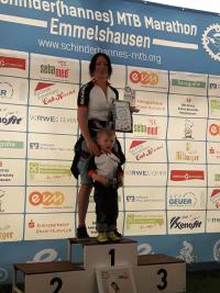 Schinderhannes 2016 - Jasmin auf dem Podium