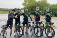 das Campana Racing Team im Ziel